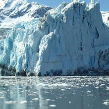 Photo of an Arctic glacier