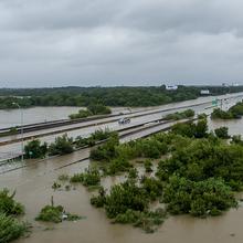 Photo of flooding from Hurricane Harvey