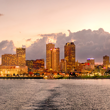 Photo of the New Orleans, Louisiana, skyline ©iStock.com/grandriver
