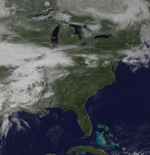 Teaser satellite image of U.S. for NOAA OneStop