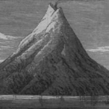 Island of Krakatau