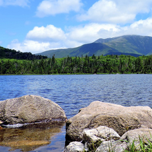 Photo of a mountain landscape in New Hampshire