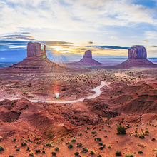 Photo of Monument Valley in Utah
