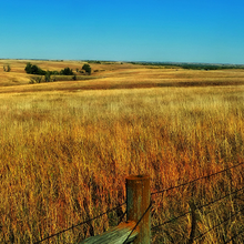Photo of a Nebraska prairie and plains landscape