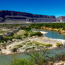 Photo of the Rio Grande River in Texas