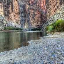 Photo of Santa Elena Canyon at Big Bend National Park in Texas