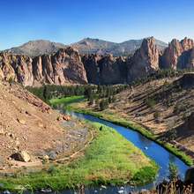 Photo of Smith Rock State Park in Oregon
