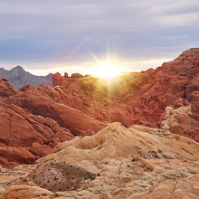 Photo of the Valley of Fire in Las Vegas Nevada