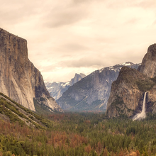 Photo of Yosemite National Park in California