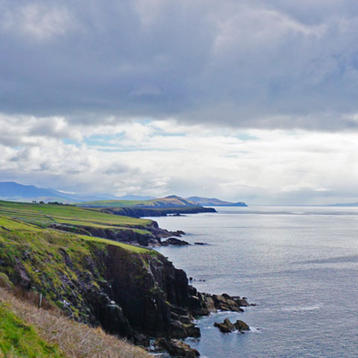 Photo of the Irish Sea coast