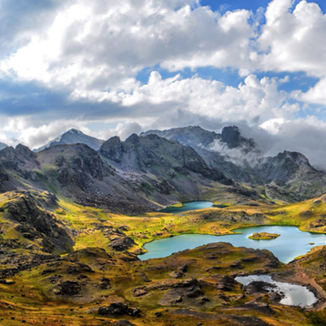 Photo of the Kackars Mountains in Turkey