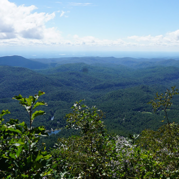 Photo of North Carolina mountains