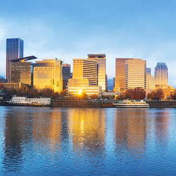 Photo of Portland, Oregon, © iStockphoto.com/zhudifeng