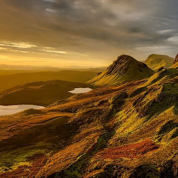 Photo of a Scotland landscape