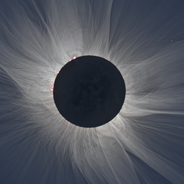 Photo of a solar eclipse courtesy of NASA