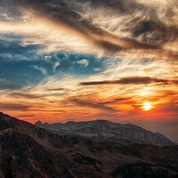 Photo of Utah mountain landscape