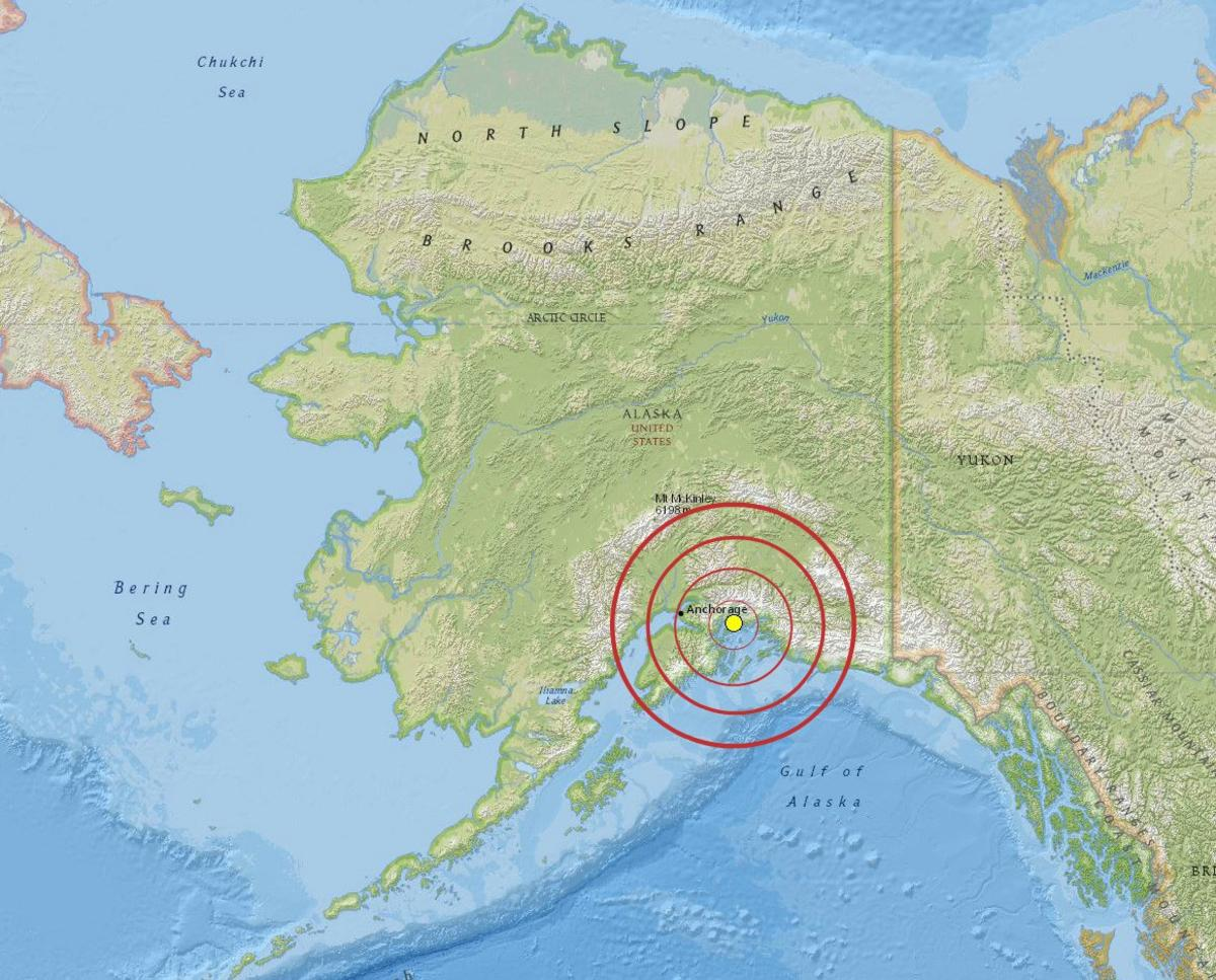 On this day great alaska earthquake and tsunami news national great alaska earthquake epicenter map gumiabroncs Image collections